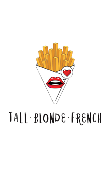 Tall Blonde French Retina Logo