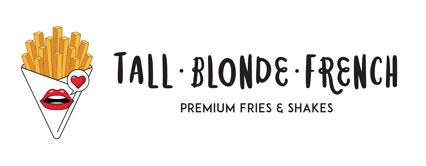 Tall Blonde French Mobile Retina Logo